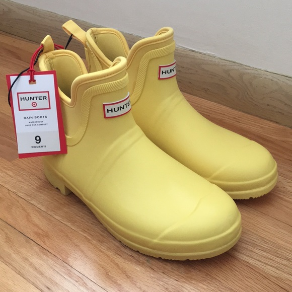 hunter ankle boots target